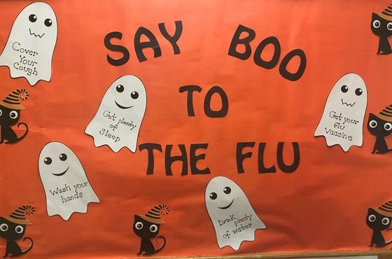 Flu prevention information