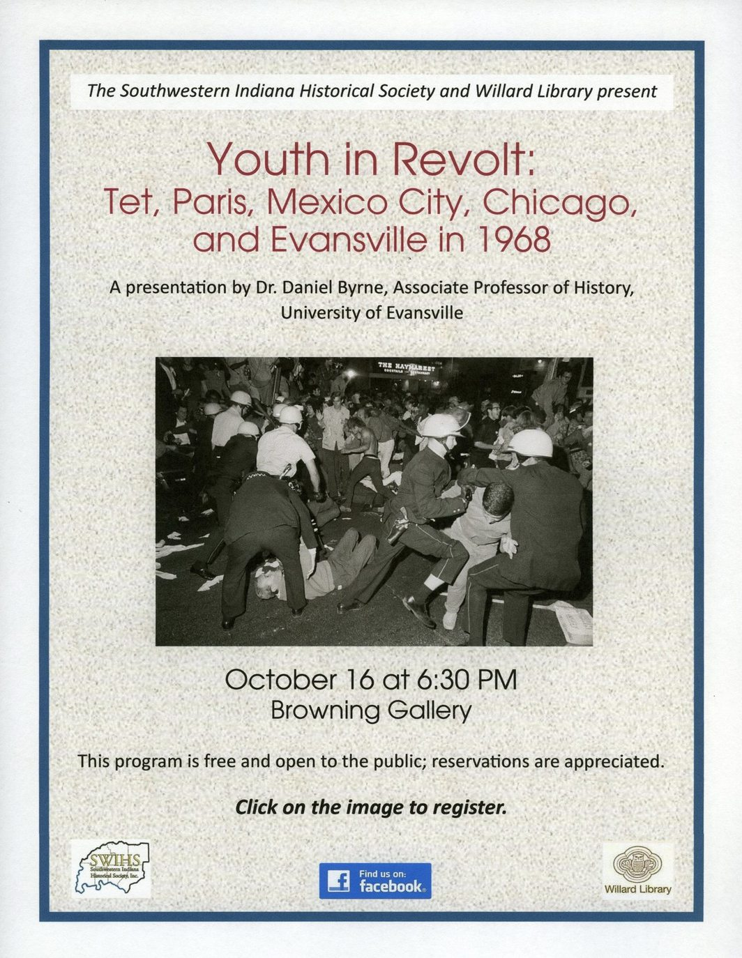 Southwestern Indiana Historical Society Program