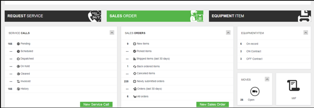 NuSource Financial Customer Portal