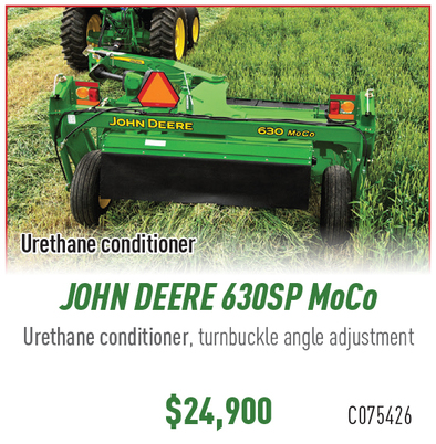 John Deere 630 Mower Conditioner - Urethane Conditioner