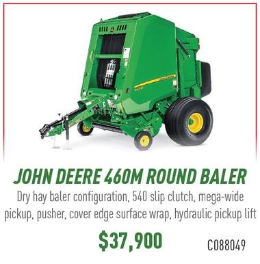 John Deere 460M Round Baler