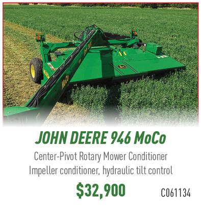 John Deere 946 Mower Conditioner