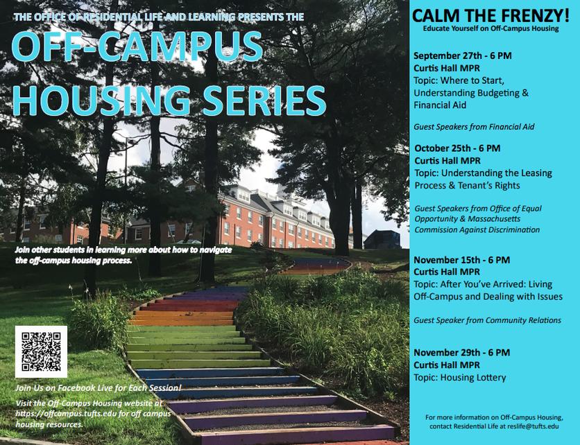 Off-Campus Housing Series