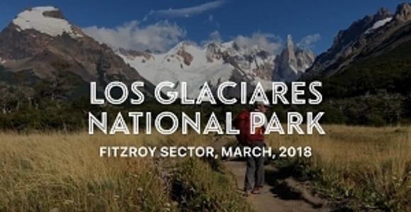 Video of hiking in Patagonia - Los Glaciares National Park, Argentina