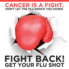 Get your flu shot poster