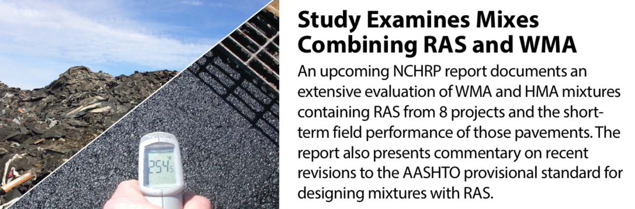 Study Examines Mixes Combining RAS and WMA