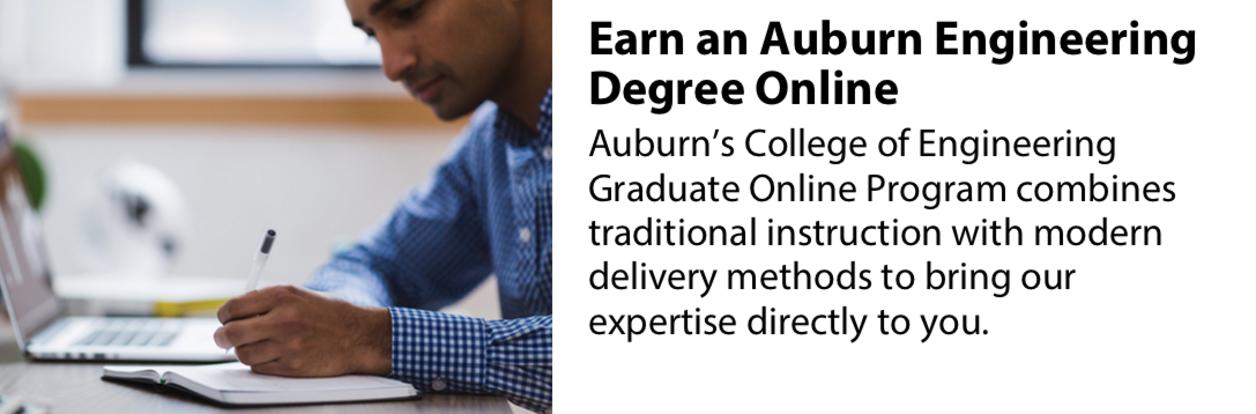 Earn an Auburn Engineering Degree Online