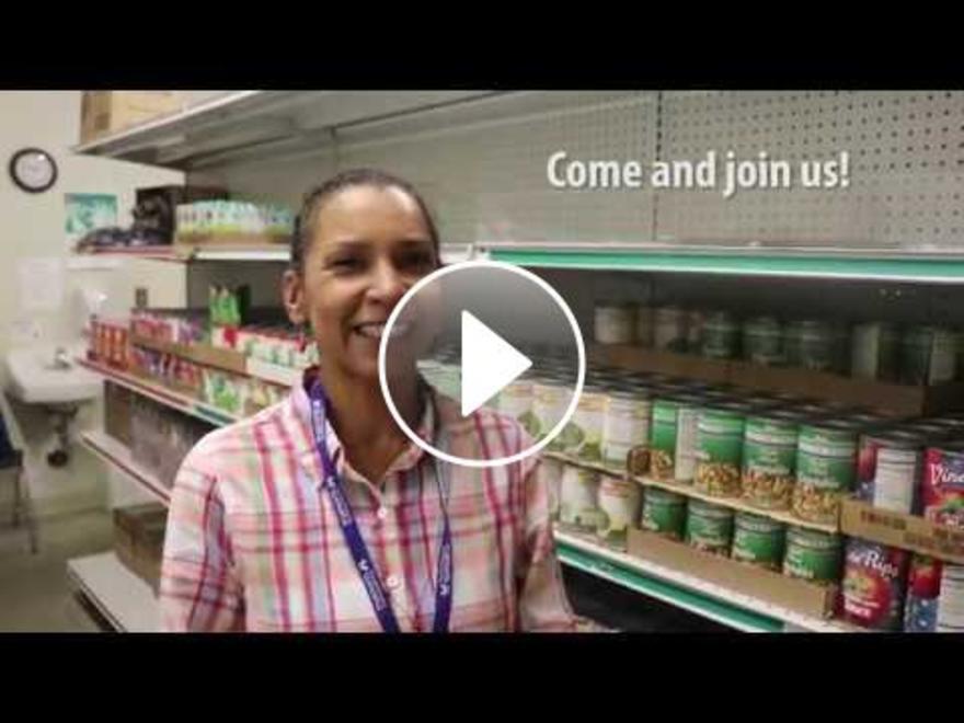 Volunteer with the TrueNorth Food Pantry