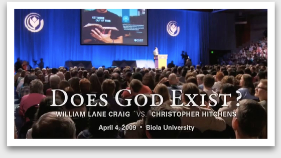 DOES GOD EXIST? | William Lane Craig vs. Christopher Hitchens