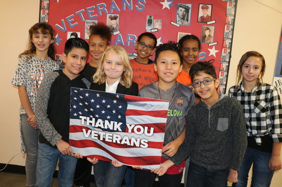 CCSD Veterans Week 2018