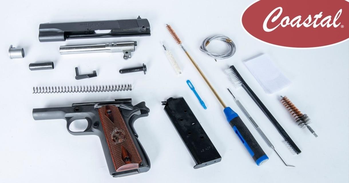 Coastal 101: How to Clean a Handgun