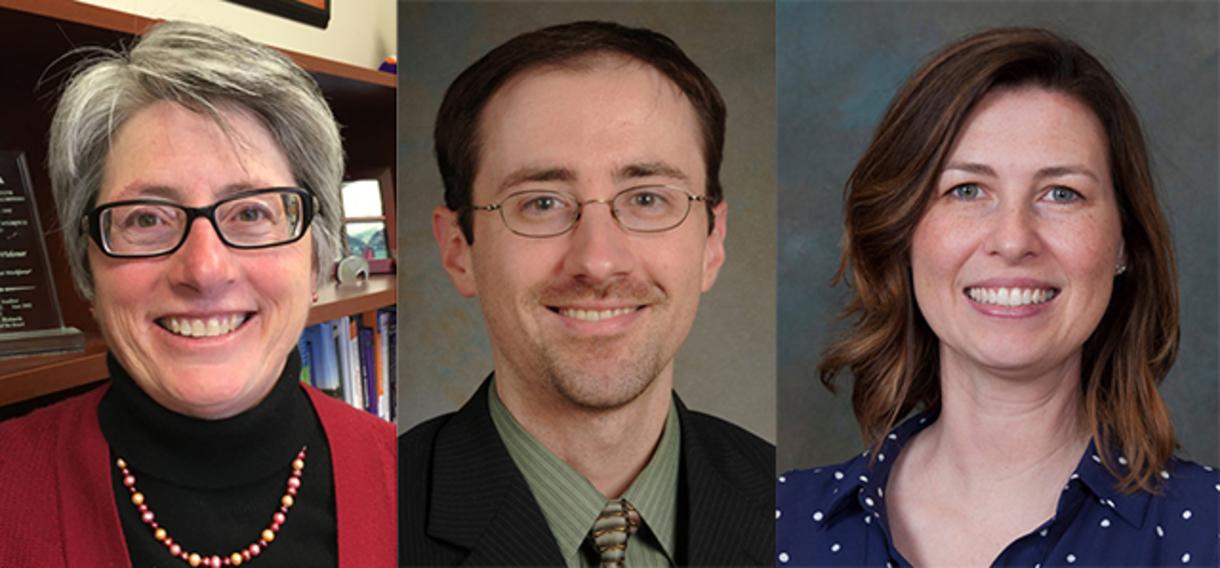 Photo of Sally Widener, Derek Dalton, and Nancy Harp