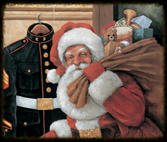 Toys for Tots Santa