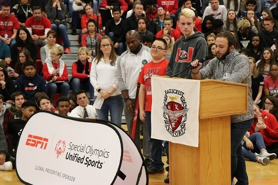 Eaglecrest honored as National Banner Unified Champion School