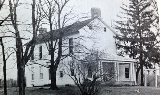 The Austin-Magie Farm house in 1950