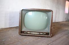 Antique tv