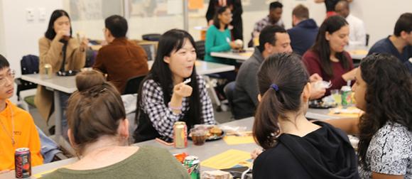 International Buddy Program get together