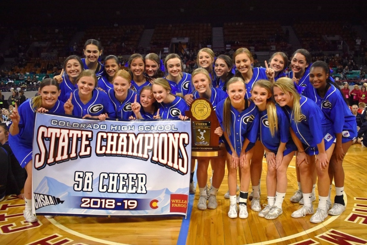 GHS State 5A Cheer Champs