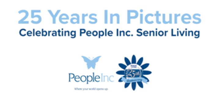 Graphic that links to the Senior Living 25th anniversary video.