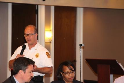 DeKalb County Fire Marshall Chief Joseph Cox