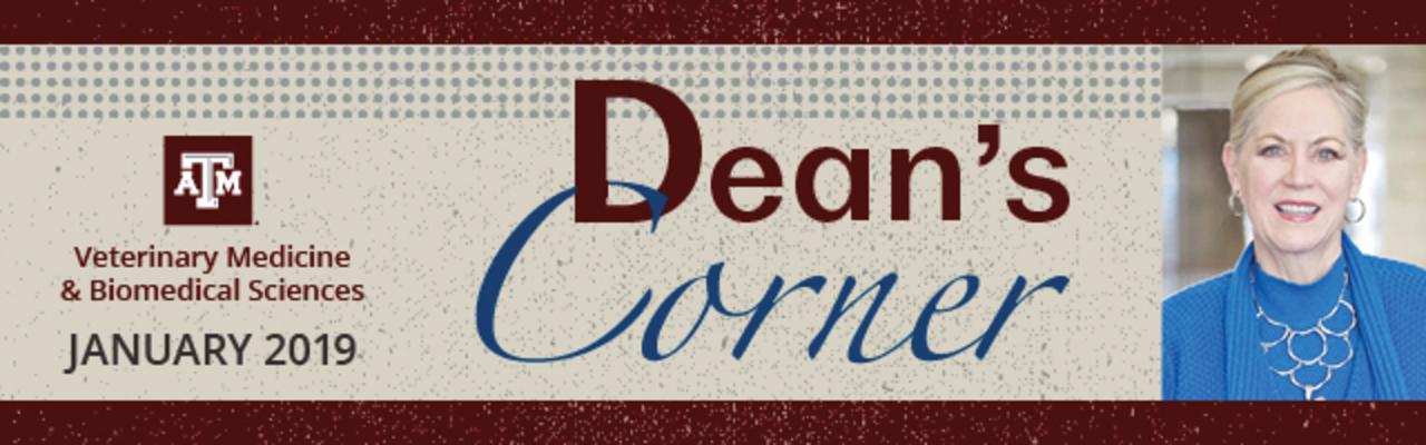 Dean's Corner banner