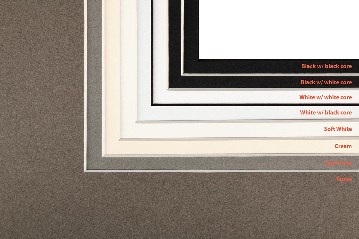 New Mat Colors for Framed Prints