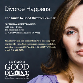 Guide to Good Divorce seminar Jan. 26, 2019