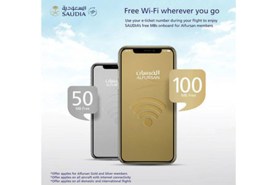 http://www.pax-intl.com/ife-connectivity/connectivity-and-satellites/2019/01/03/saudia-offers-limited-free-wi-fi-to-loyalty-group/#.XDYVxK3MxE4
