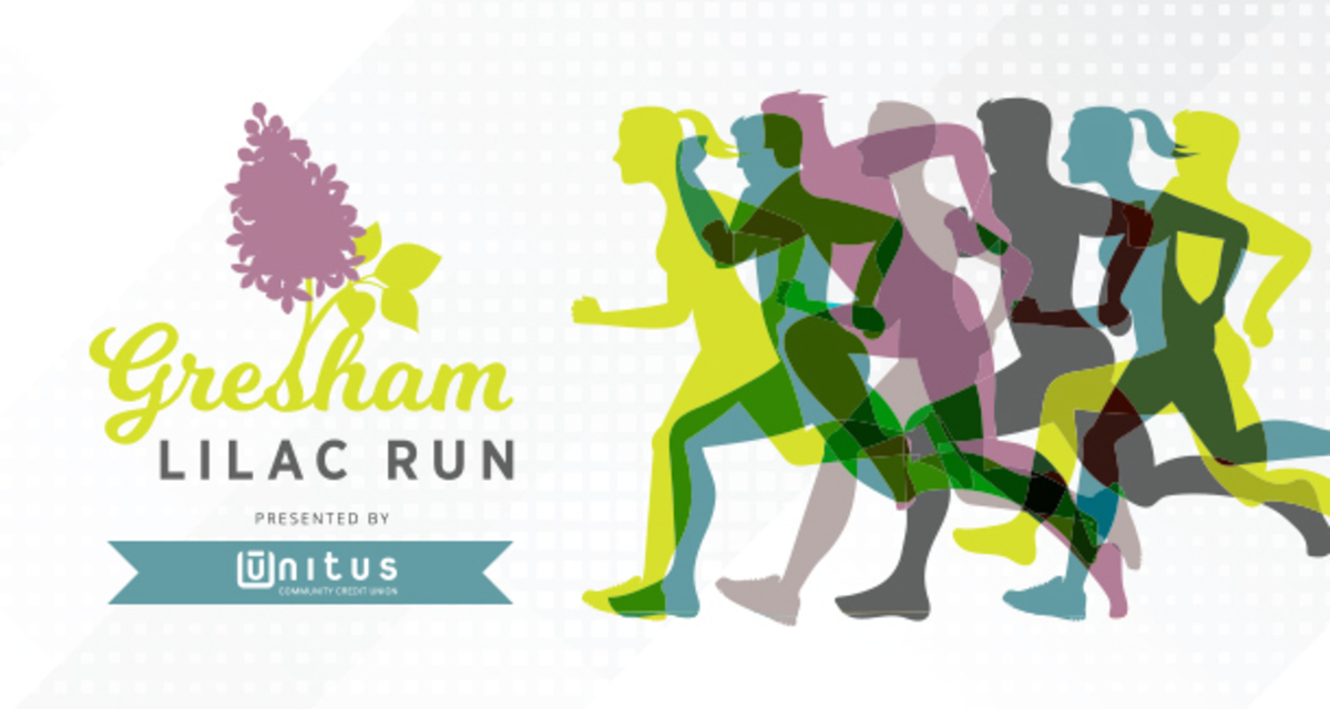 Sign up now to walk or run in The Gresham Lilac Run on Saturday, April 13.