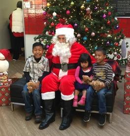 Santa at Fairfield Y