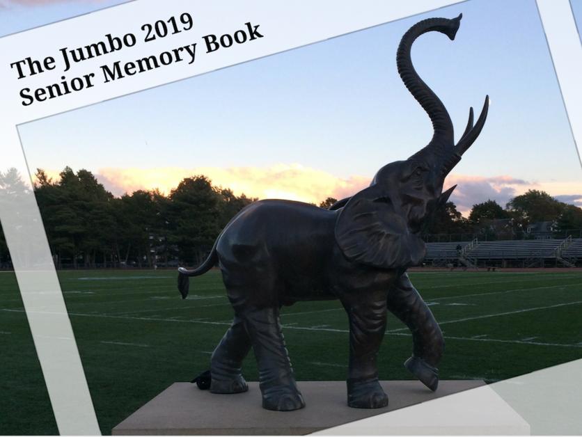 The Jumbo 2019 Senior Memory Book