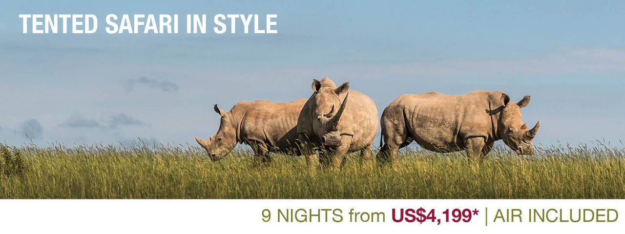 View the Tented Safari in Style itinerary