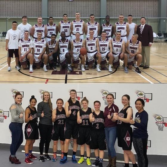 Mens and Womens Basketball Teams