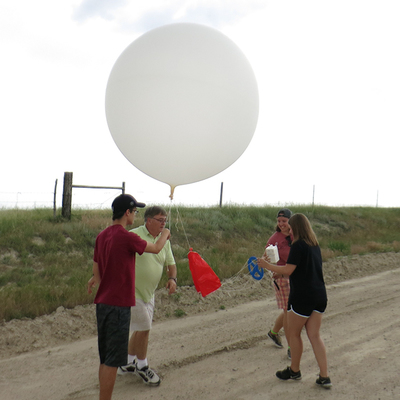 Aggie Meteorologists Launching NOAA-Funded Severe Weather Research Balloon Project