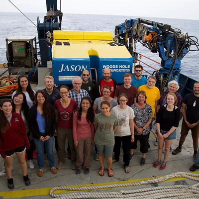 Aggie Oceanographer Sailed On The Lost City Hydrothermal Expedition