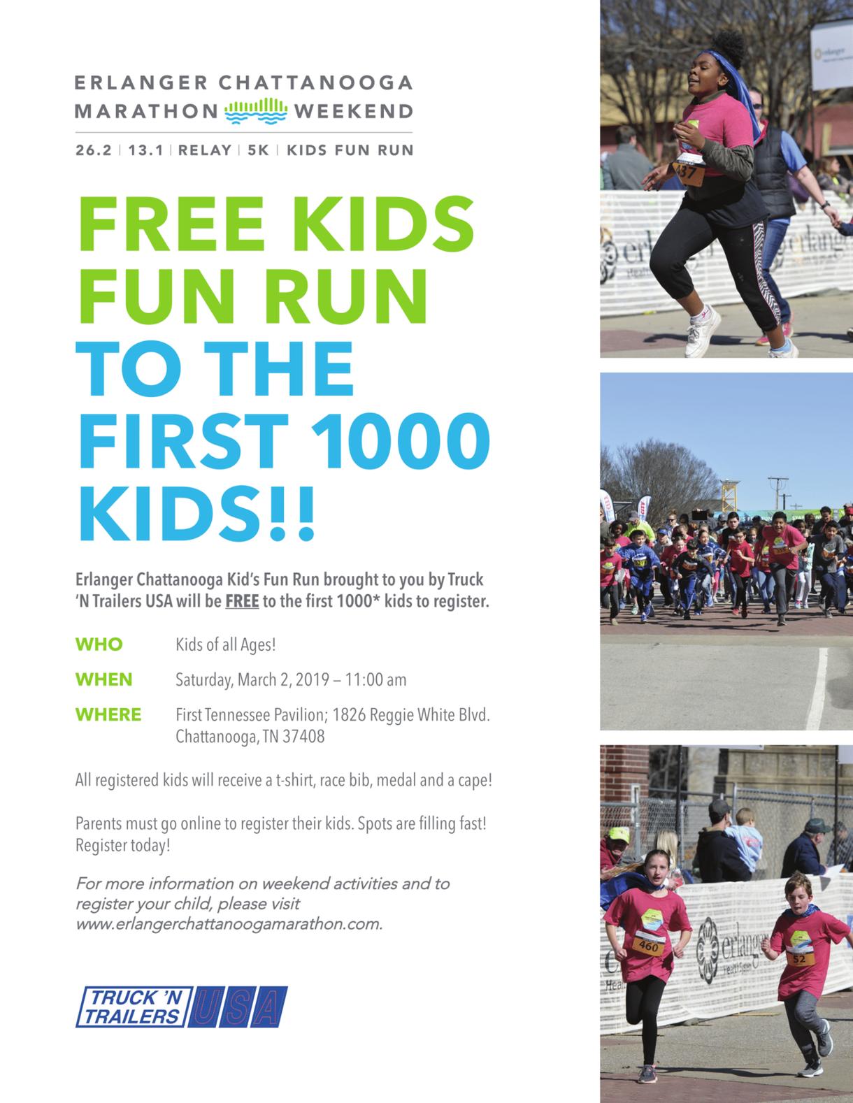 Erlanger Free Kids Fun Run