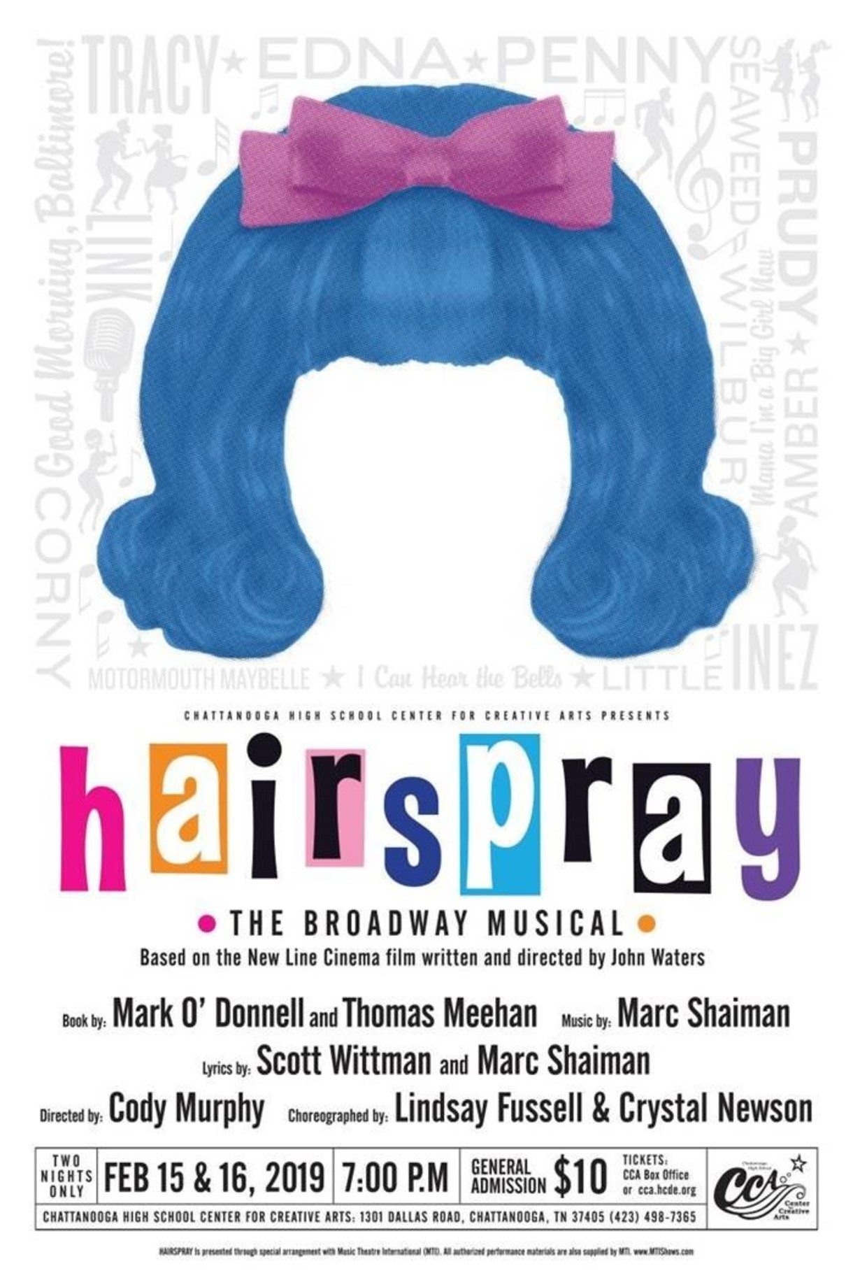 Hairspray Performed by CCA