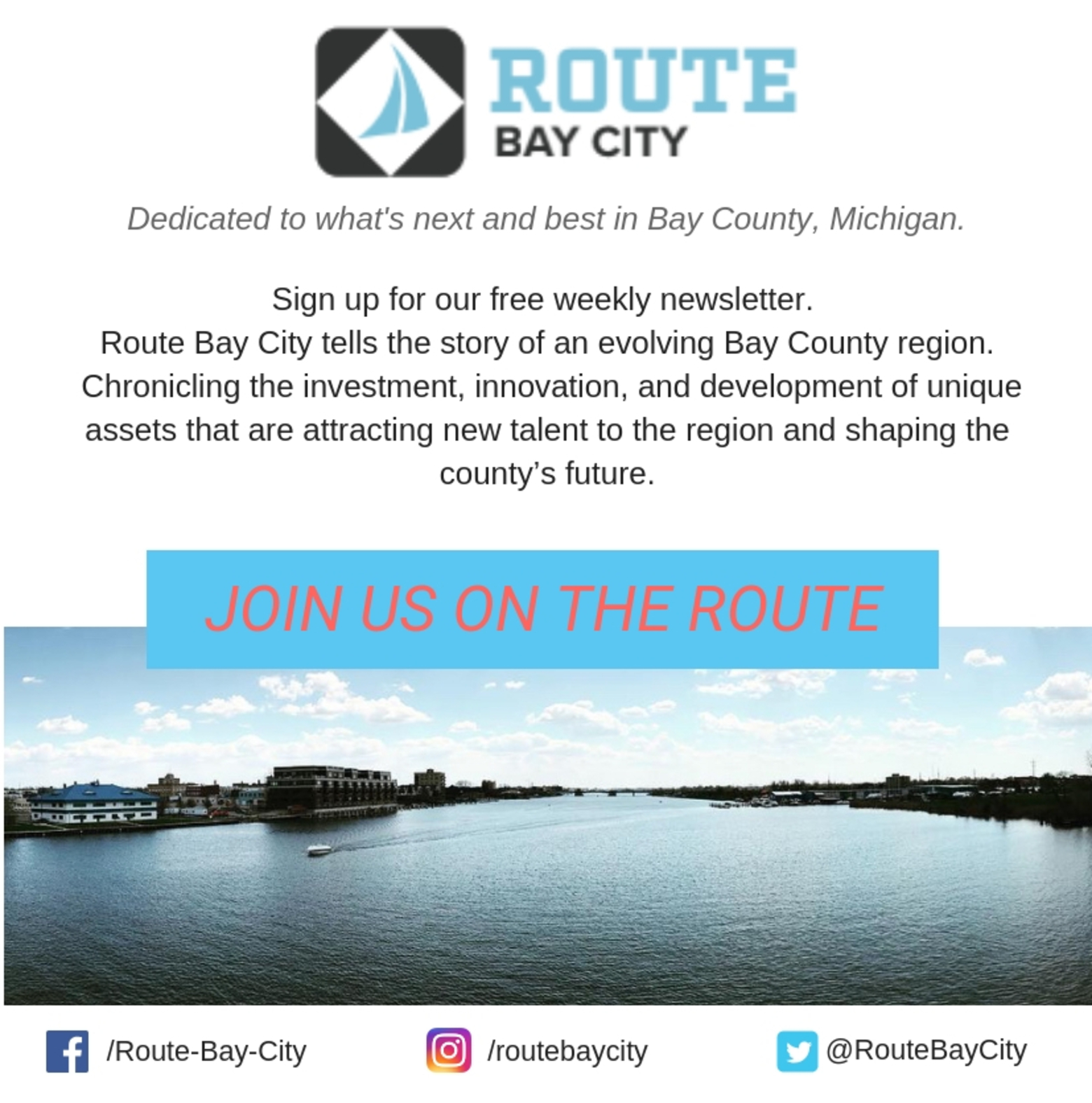 Route Bay City