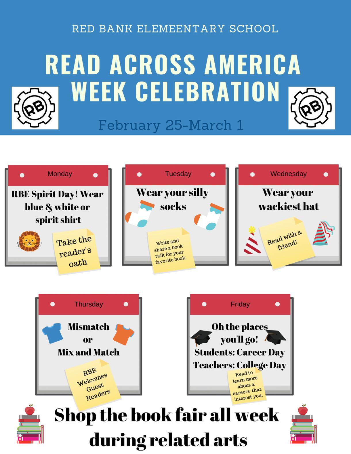 Read Across America Celebration Flyer