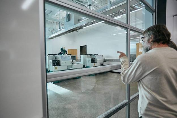 Engineering Lab with speciality windows & lights