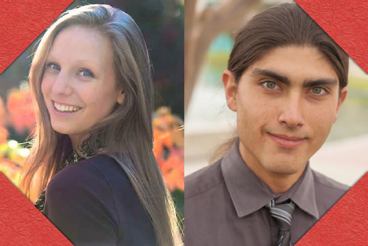 Jack Kent Cooke Scholarship Semifinalists Madison Morris and Raymond Pi Oliver
