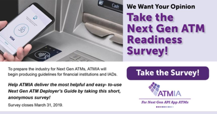 Take the Next Gen ATM Readiness Survey!
