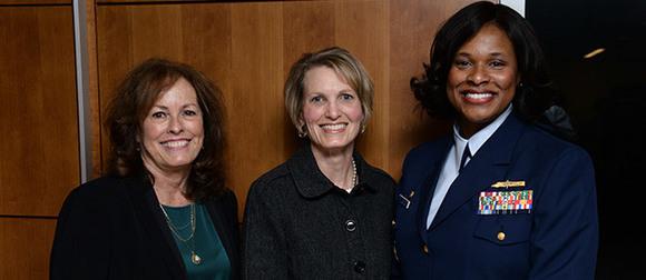 Kathy Newcomer, Amy Peeples and Zeita Merchant