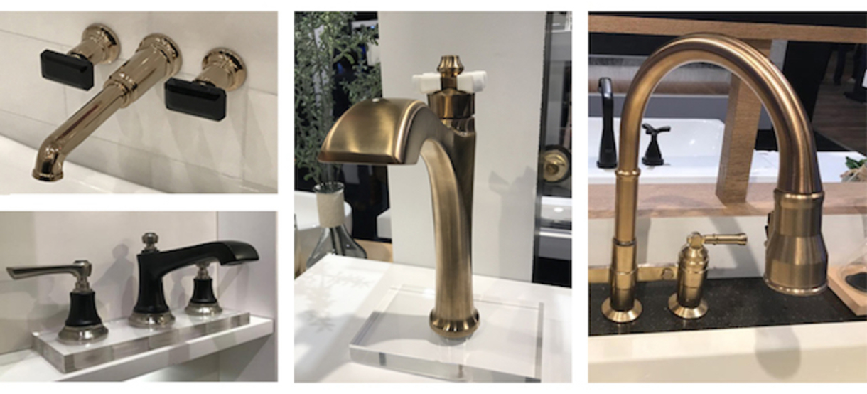 KBIS kitchen and batch faucets