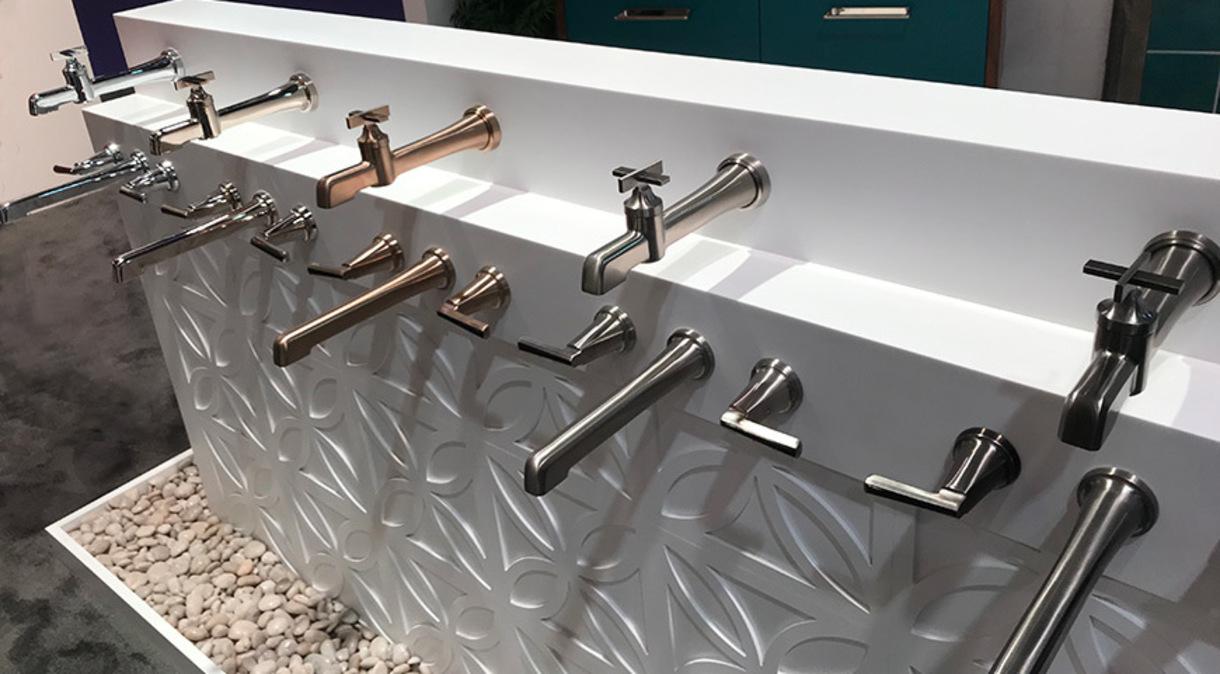 Delta bath faucets at KBIS 2019