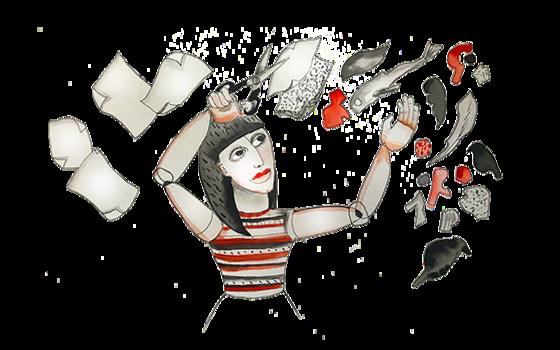 Illustration of Mita Mahato by Stacy Milrany
