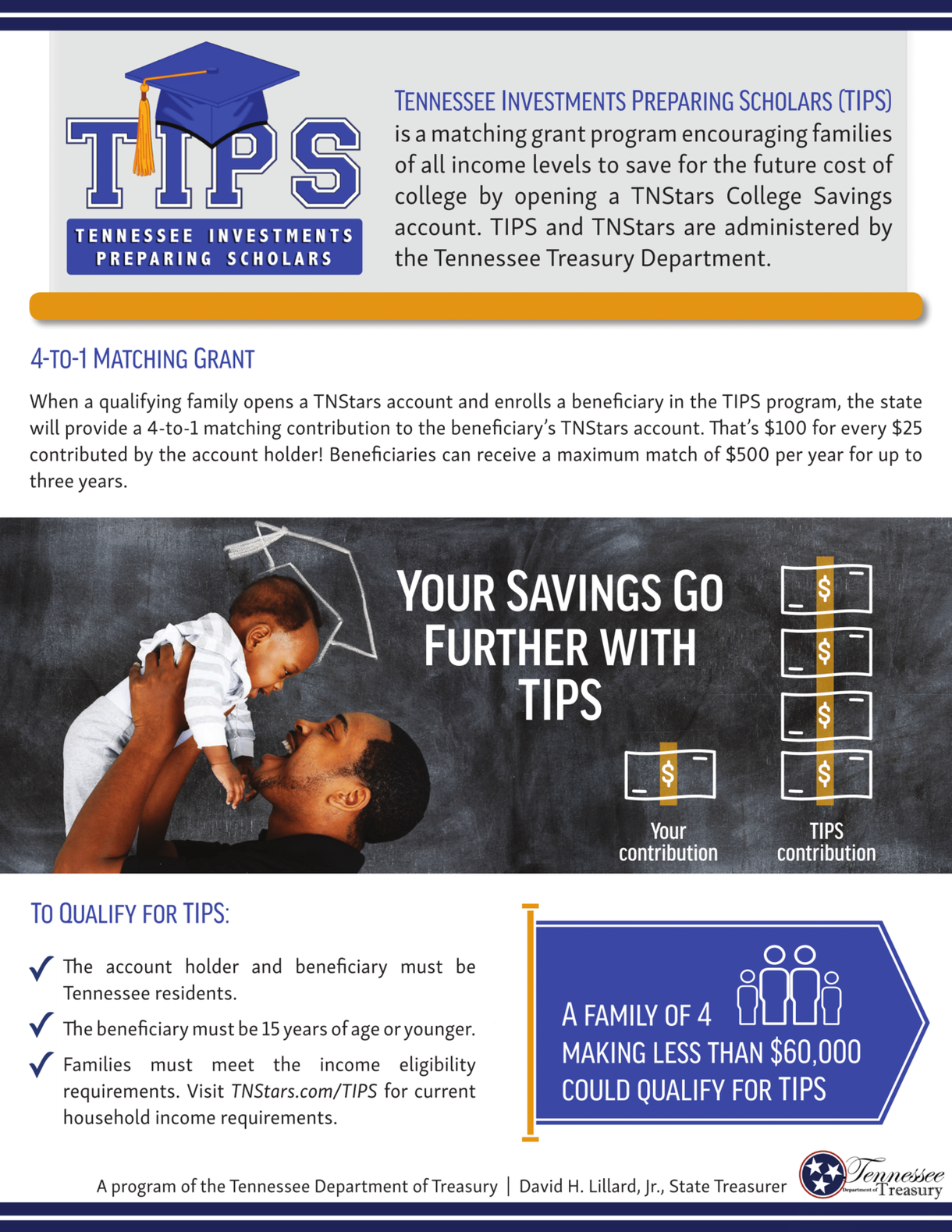 TIPS program flyer