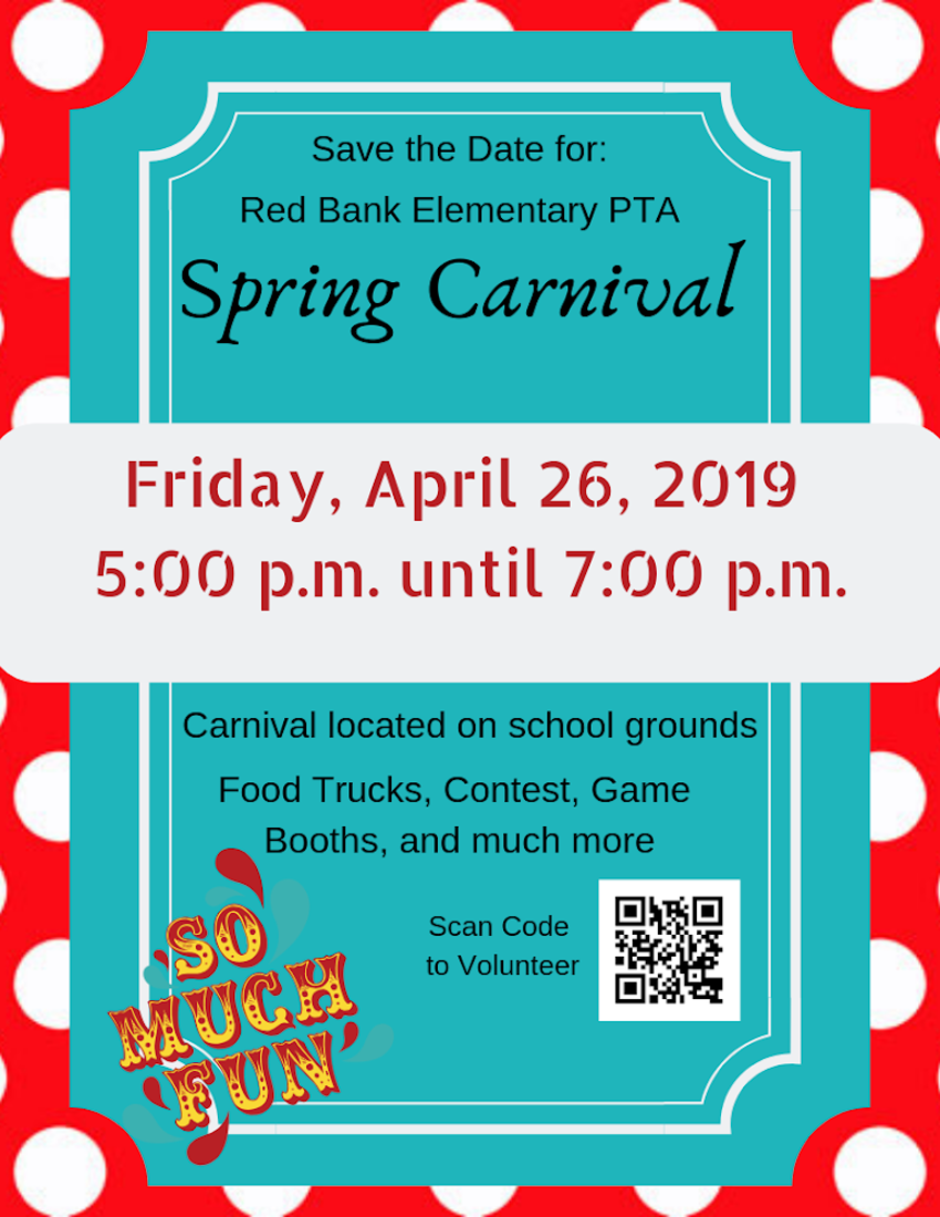 PTA Spring Carnival - Friday, April 26