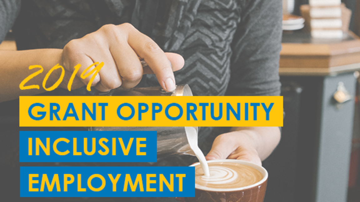 2019 Grant Opportunity: Inclusive Employment