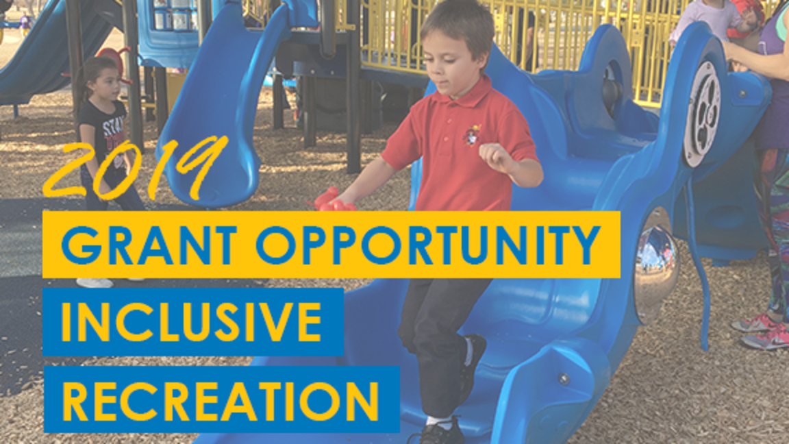 2019 Grant Opportunity: Inclusive Recreation
